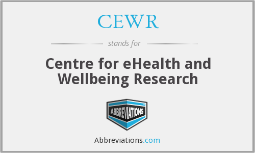 What does CEWR stand for?