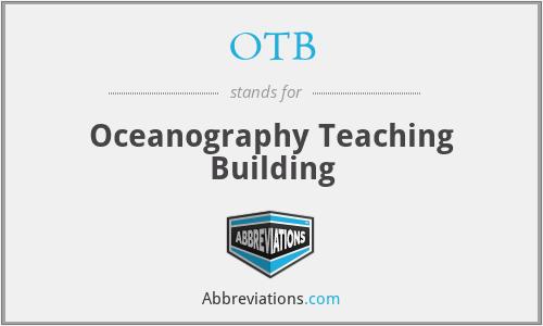 OTB - Oceanography Teaching Building