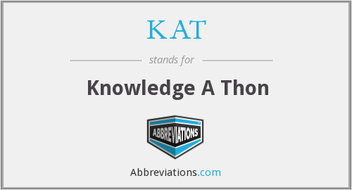 KAT - Knowledge A Thon