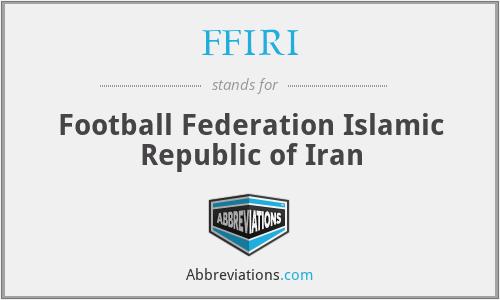FFIRI - Football Federation Islamic Republic of Iran