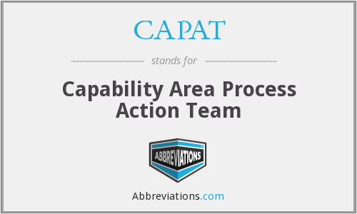 What does CAPAT stand for?