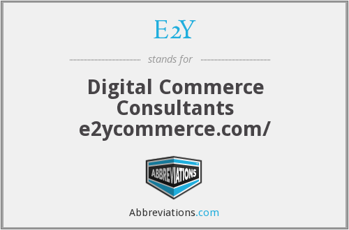 E2Y - Digital Commerce Consultants e2ycommerce.com/