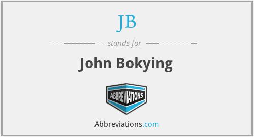 JB - John Bokying