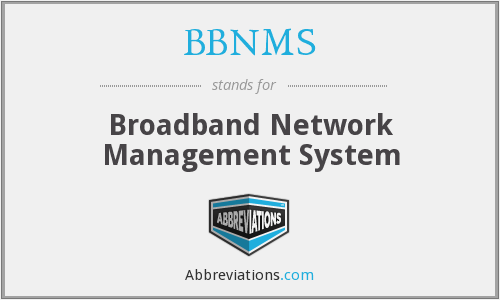What does BBNMS stand for?