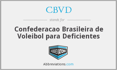 What does CBVD stand for?