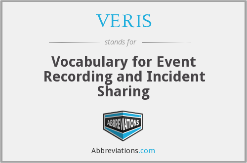 What does VERIS stand for?