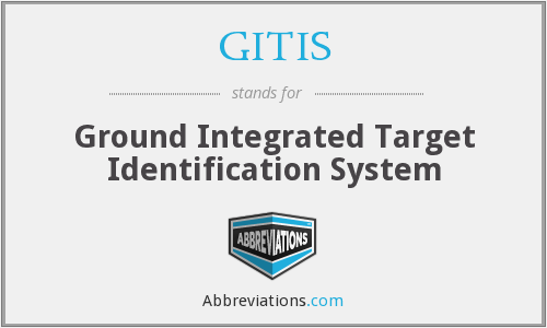 GITIS - Ground Integrated Target Identification System