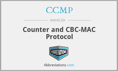 CCMP - Counter and CBC-MAC Protocol