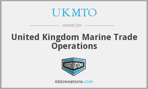 What does UKMTO stand for?