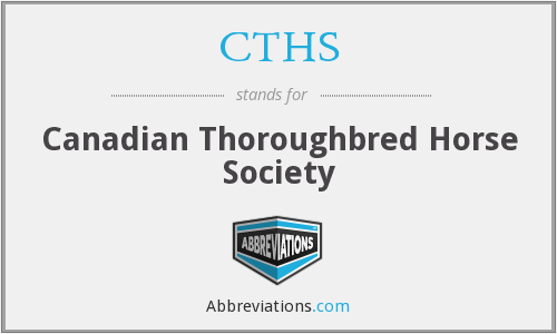CTHS - Canadian Thoroughbred Horse Society