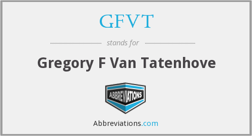 What does GFVT stand for?
