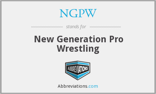 What does NGPW stand for?