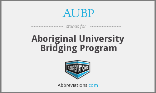 AUBP - Aboriginal University Bridging Program