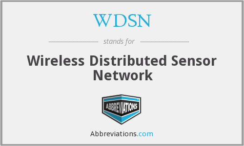 WDSN - Wireless Distributed Sensor Network