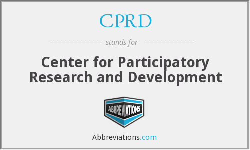 CPRD - Center for Participatory Research and Development