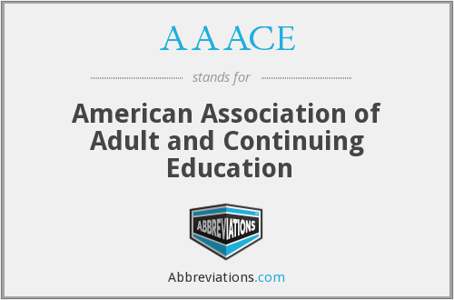 AAACE - American Association of Adult and Continuing Education
