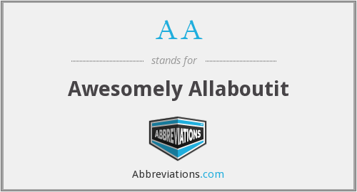 AA - Awesomely Allaboutit