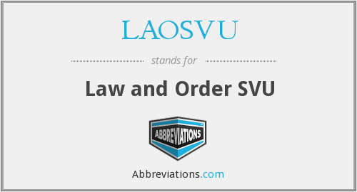 What does LAOSVU stand for?