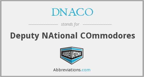 What does DNACO stand for?