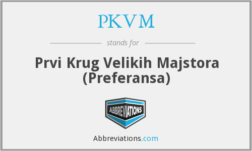 What does PKVM stand for?