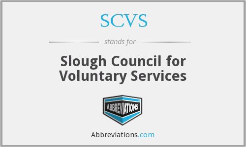 SCVS - Slough Council for Voluntary Services