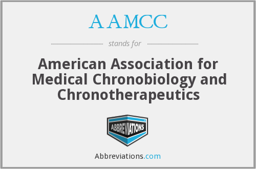 AAMCC - American Association for Medical Chronobiology and Chronotherapeutics