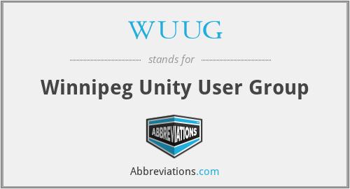 WUUG - Winnipeg Unity User Group