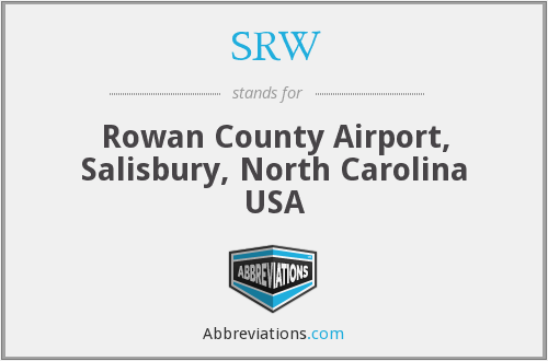 SRW - Rowan County Airport, Salisbury, North Carolina USA