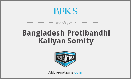 What does BPKS stand for?