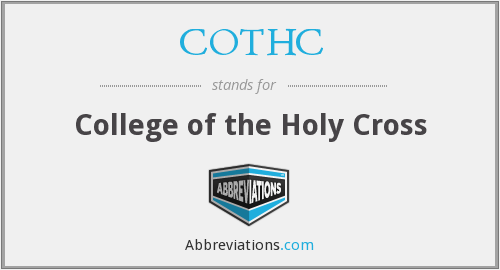 What does COTHC stand for?