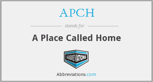 What does APCH stand for?