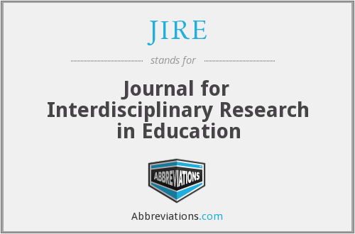 What does JIRE stand for?