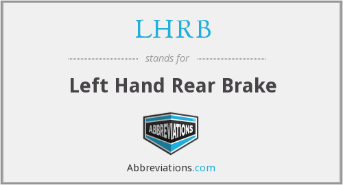 What does LHRB stand for?
