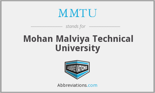 What does MMTU stand for?