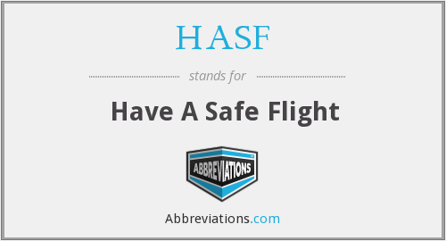 What does HASF stand for?