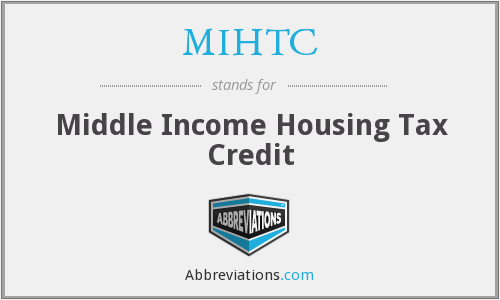 What does MIHTC stand for?