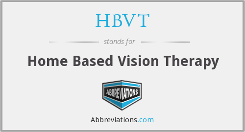 What does HBVT stand for?