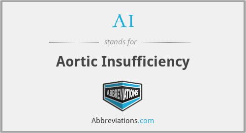AI - Aortic Insufficiency