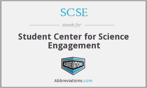 SCSE - Student Center for Science Engagement