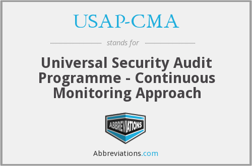 USAP-CMA - Universal Security Audit Programme - Continuous Monitoring Approach