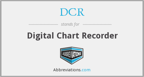 DCR - Digital Chart Recorder