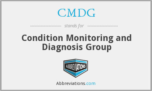 What does CMDG stand for?