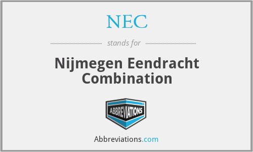 NEC - Nijmegen Eendracht Combination