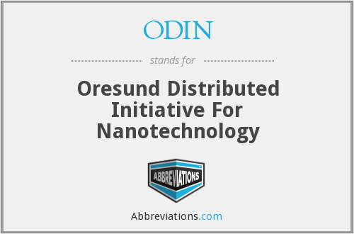 ODIN - Oresund Distributed Initiative For Nanotechnology