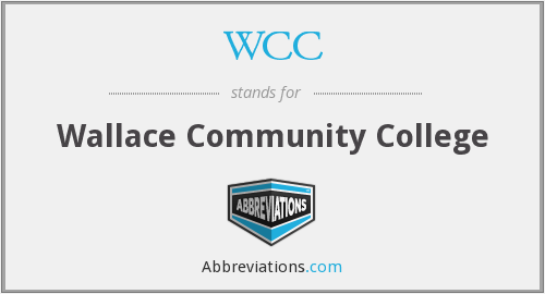 WCC - Wallace Community College
