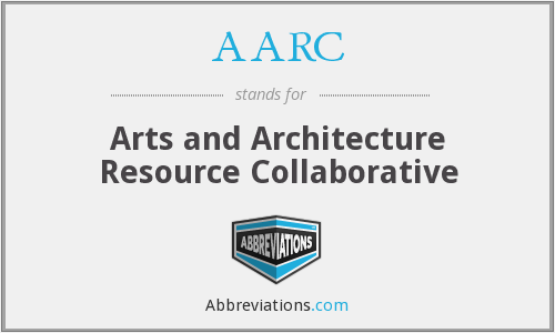 AARC - Arts and Architecture Resource Collaborative