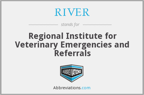 RIVER - Regional Institute for Veterinary Emergencies and Referrals