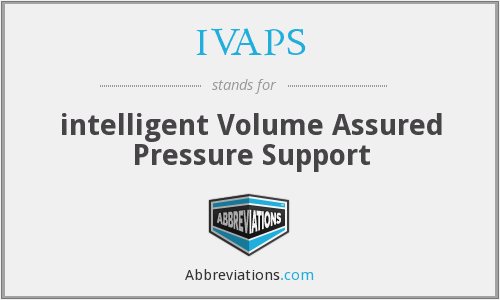 What does IVAPS stand for?