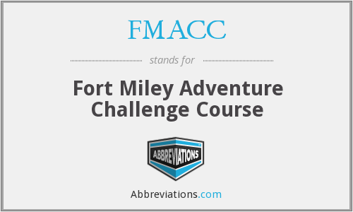FMACC - Fort Miley Adventure Challenge Course