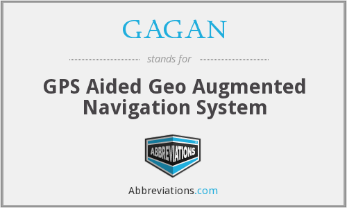 GAGAN - GPS Aided Geo Augmented Navigation System